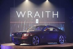 The Wraith is the most powerful Rolls-Royce in history yet, featuring an elegant yet contemporary design. (© Rolls-Royce Motor Cars)