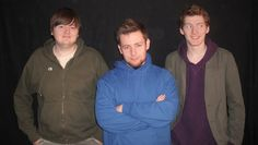 real life eddsworld! edd gould, tom ridgewell, and... matt hargreaves. xD i can definitely see the likeness.
