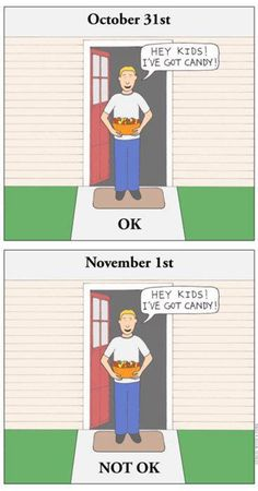 Gentle Reminder With Halloween Just Around The Corner