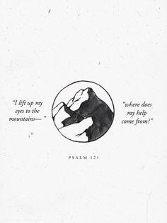 coleyoungblood: O meu socorro vem do Senhor, o Criador do céu e da terra.