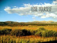 Lose Yourself #CreektoPeak