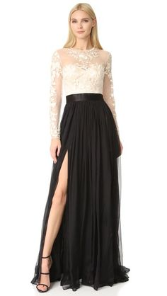 Catherine Deane Isha Lace Embroidered Gown | SHOPBOP