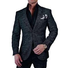 Men's Standard Fit Button Up Mock Neck Sweater Goodfellow & Co™
