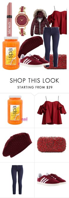 """""""All out of love"""" by sweetimperfection ❤ liked on Polyvore featuring Victoria's Secret, Atlantique, Anna October, Accessorize, Abercrombie & Fitch, Alice + Olivia, Giorgio Armani, adidas and Anne Klein"""