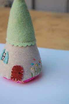 Felt House - you might have this already Monica. It is so sweet!