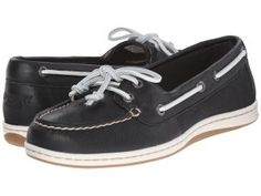 Sperry Top-Sider Firefish Core (Black/White) Women's Lace up casual Shoes