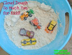 Cloud Dough: A little kid's dream