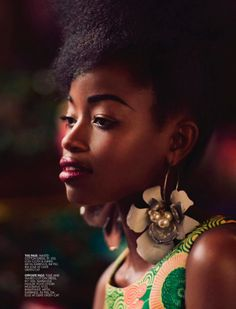African Prints in Fashion: Style Spread: Elle South Africa #fashion #editorial