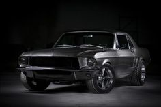 1967 Mustang Wallpapers HD Photo.