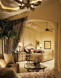 Designer Dream Homes - Master Bedroom.   I wouldn't leave my bedroom if it looked like this!