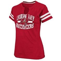 45b27346d Tampa Bay Buccaneers Women s Split Neck T-Shirt Atlanta Falcons T Shirt