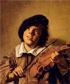 Baroque - Boy Playing A Violin - Frans Hals