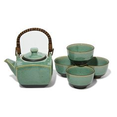 Speckles Tea Set Green, $52, now featured on Fab.