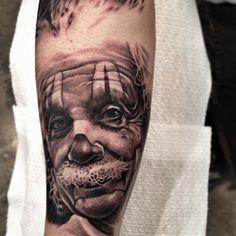 """Clown Albert Einstein portrait by Antonio """"Macko"""" Todisco - So cool!"""