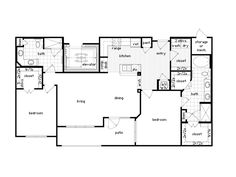 1 And 2 Bedroom Apartment Floor Plans Feature Lavish Luxury Amenities In  Houston, TX.