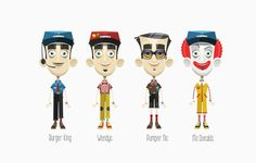 Various Professions - 3D Characters #3D #character