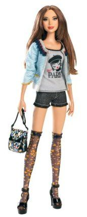 Barbie Fashion Stardoll Doll - Mix and Match Trendy, Original Fashions and Accessories by Mattel. $16.99. Stardoll is the largest online fashion and dress-up game community for girls. Comes with enclosed gift card to get a Superstar membership online. Girls will love mixing and matching trendy fashions and accessories. Barbie has teamed up with Stardoll to bring you the newest line of trendy fashion dolls. Experience all the online fun of Stardoll in the real world....