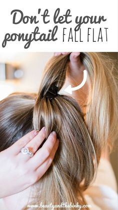 Bring Back the Bounce to Second-Day Hair with Goody | Beauty and the Binky Blog | #GoodyStyle, #ad, #sponsored, @Goody, thick hair, long hair tips, hairstyle, hair tutorial, hair styles, ponytail hairstyles