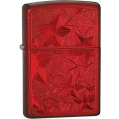 Zippo Candy Iced Stars Lighter (Apple Red, 5 1/2x3 1/2-Cm) (120 BRL) ❤ liked on Polyvore featuring home, home improvement and lighters