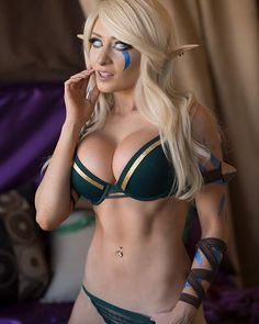 Alleria Windrunner by Kate Sarkissian @ instagram.com/k8sarkissian - More at https://pinterest.com/supergirlsart #hot #sexy #cosplay #girl #cosplaygirl #k8 #katesarkissian #k8sarkissian #warcraft #wow #elf #lingerie
