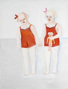 LENA CRONQVIST, född 1938, Väninnor, Signerad