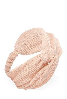 Metallic Knotted Headwrap | FOREVER21 - 1000119750 $5.90