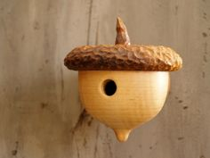 Woodland Acorn Birdhouse