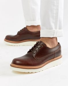 04c959fcd72324 Grenson Augustin lace up shoes in brown leather