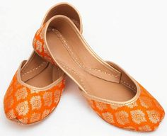 Buy Rust Ladies Khussa by PakRobe.com