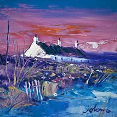 Art Prints Gallery - Evening Gloaming, Easdale Island (Limited Edition), £105.00 (http://www.artprintsgallery.co.uk/John-Lowrie-Morrison/Evening-Gloaming-Easdale-Island-Limited-Edition.html)
