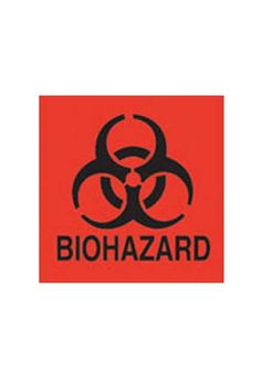 """�tiquette """"Bio Hazard"""""""