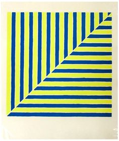 "Frank Stella (American, b. 1936), Untitled (Rabat), from ""Ten Works by Ten Painters"", 1964, screenprint in colors on paper"