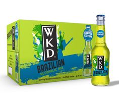 ALCOHOL NEWS - The latest drink brand to jump on the increasing significance of Brazil due to next year's World cup, is WKD. The brand has announced the release in January 2014 of a new flavour that is said to encapsulate the taste of Brazil, exuding the party atmosphere of the world-famous Rio de Janeiro carnival and the lively Copacabana beach night scene.