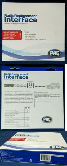 1dc0a344af704b45153f8afcd26c4dcd other car a v installation pac rp5 gm11 radio replacement  at aneh.co