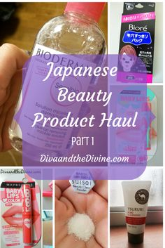 My review of some Beauty Products found in Japan