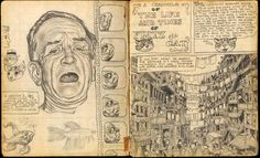 WARNING! Graphic Content: Political Cartoons, Comix and the Uncensored Artistic Mind from Robert Crumb's Sketchbook