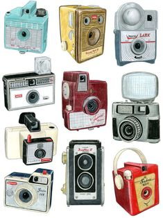 Old Cameras - My Family Had A Couple Of These