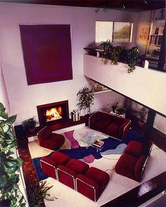 70s Living room #decoração #design #arquitetura #casa #home