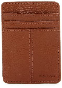 Cole Haan Front Pocket Leather Wallet