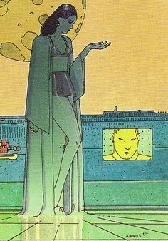'Moebius Collector Cards': Gallery of Moebius trading cards from the early Jean Giraud, Moebius Artist, Manado, Nogent Sur Marne, Jordi Bernet, Science Fiction, Ligne Claire, Westerns, Collector Cards