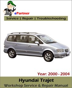 download hyundai h1 starex service repair manual 1997 2006 hyundai rh pinterest com
