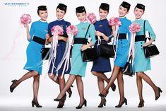 Xiamen Airlines - Fly to Beijing ·ETB Travel News Australia Xiamen, Vietnam Airlines, Airline Uniforms, Cabin Crew, Australia Travel, News Australia, Travel News, Flight Attendant, Beijing