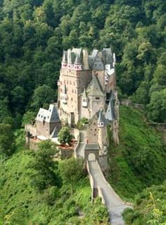 Burg Eltz, I saw this on the Rhine Tour with Astrid Baur of European Castle Tours, what a great time we had!