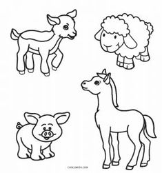 Farm animal coloring pages 2 farm animals coloring pages 2 coloring games . farm animal coloring pages Coloring Pictures Of Animals, Zoo Animal Coloring Pages, Farm Animals Pictures, Farm Animal Coloring Pages, Baby Farm Animals, Barnyard Animals, Animals Images, Coloring Pages For Kids, Animals For Kids