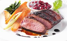 Latin-Fusion Dinner with Appetizers, Entrees, and Dessert for Two or Four at Caña y Café (Up to Off) Wine Recipes, Gourmet Recipes, Vegetarian Recipes, Roasted Carrots, Recipe For 4, French Food, Meals For Two, Entrees, Steak