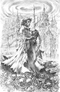 Sandman by Alan Quah & Jeff Huet Comic Book Artists, Comic Artist, Comic Books Art, Sandman Gaiman, Morpheus Sandman, Shakespeare Midsummer Night's Dream, Dc Comics, Vertigo Comics, Tinta China