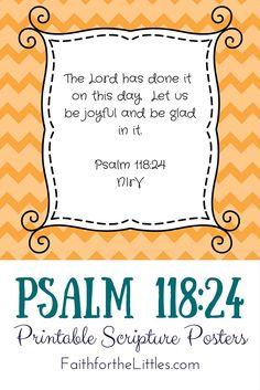 Psalm 118:24 {Scripture Sunday