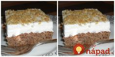 Archívy Recepty - Page 10 of 790 - To je nápad! Vanilla Cake, Tiramisu, Sweet Tooth, Cheesecake, Paleo, Food And Drink, Yummy Food, Sweets, Cooking