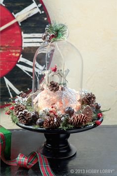 Add a little joy to your Christmas display with this festive arrangement.