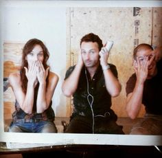 The walking dead, aw I've never seen this pic, and I've seen a lot of pics, but not this one :)